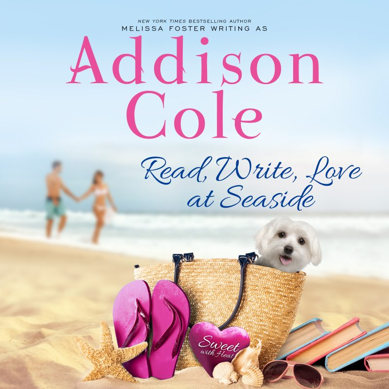 Read, Write, Love at Seaside – AUDIOBOOK narrated by Melissa Moran