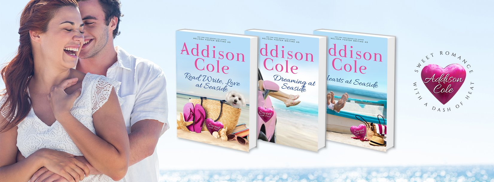 Addison Cole, Sweet with Heat: Seaside Summers